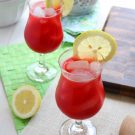 Easy Raspberry Lemonade @EclecticEveryday