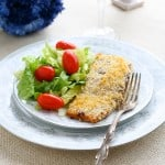 Panko Crusted Salmon @EclecticEveryday
