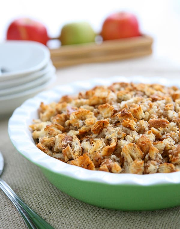 Apple Cinnamon Brown Betty @EclecticEveryday