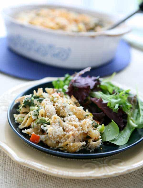 Caribbean Tuna Casserole by EclecticRecipes.com #recipe