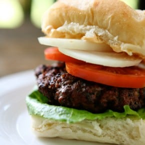 Chipotle Burgers @EclecticEveryday
