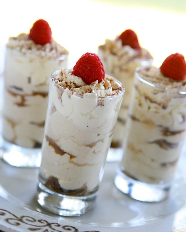 Tiramisu Shots and a Bertolli Virtual Dinner @EclecticEveryday
