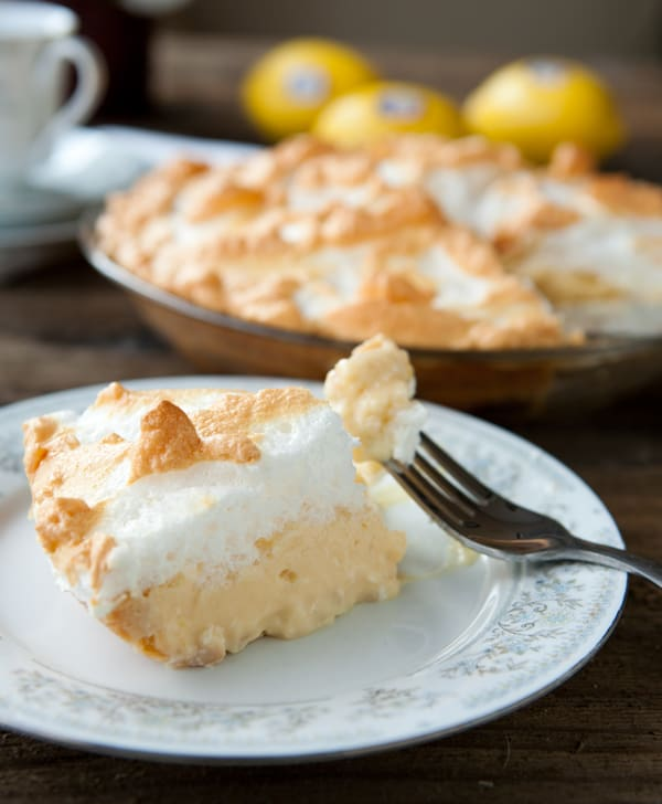 Eclectic Recipes » Homemade Lemon Meringue Pie