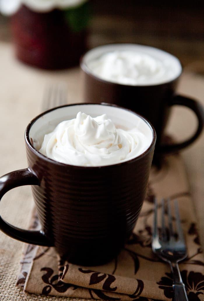 Eclectic Recipes 100 Calorie 2 Minute Chocolate Mug Cake