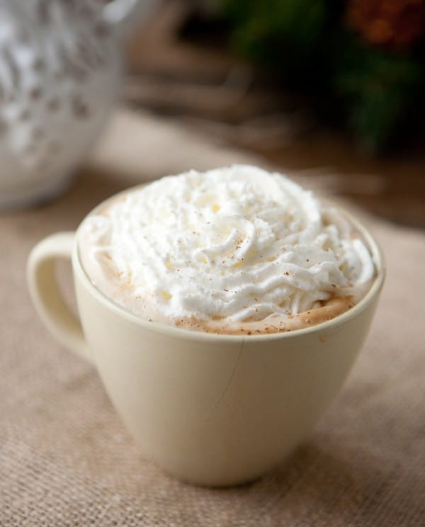 Eggnog Latte by EclecticRecipes.com #recipe