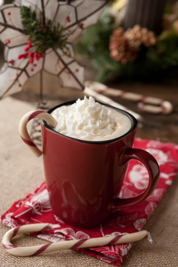 Peppermint Latte by EclecticRecipes.com #recipe