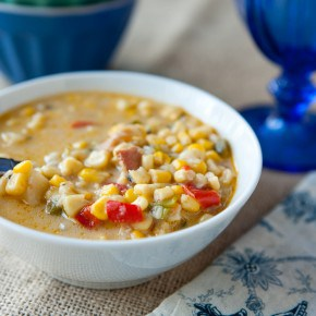 Corn Chowder with Bacon 2