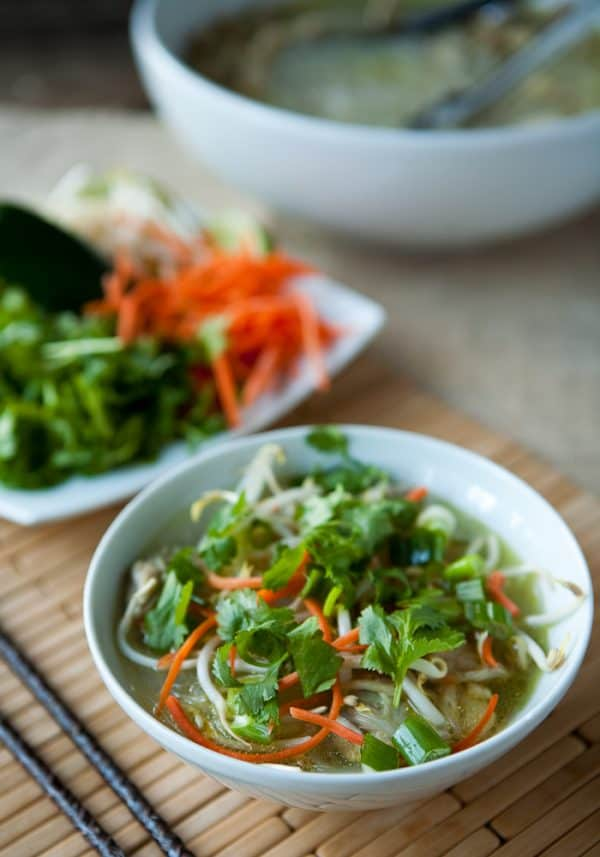Vietnamese Chicken Noodle Soup @EclecticEveryday