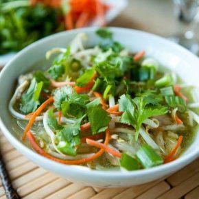 Vietnamese Chicken Noodle Soup @EclecticEveryday