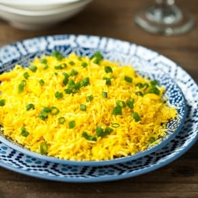 Cheap and Easy Yellow Rice @EclecticEveryday