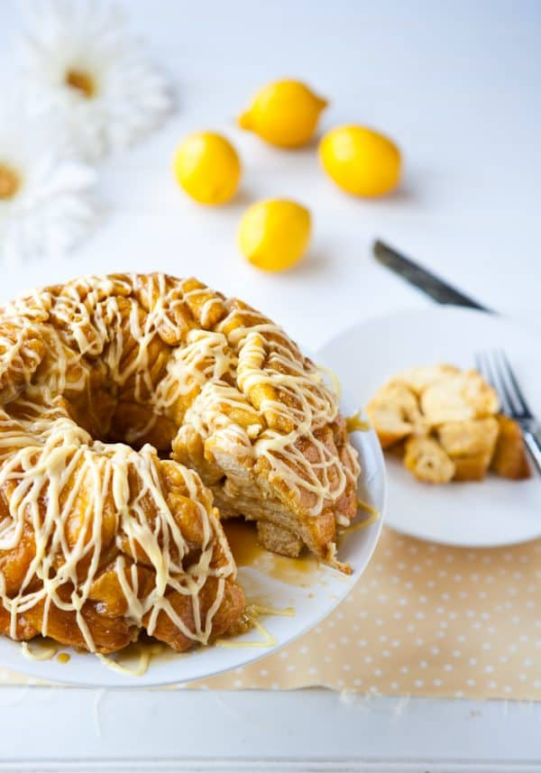 Lemon Monkey Bread @EclecticEveryday