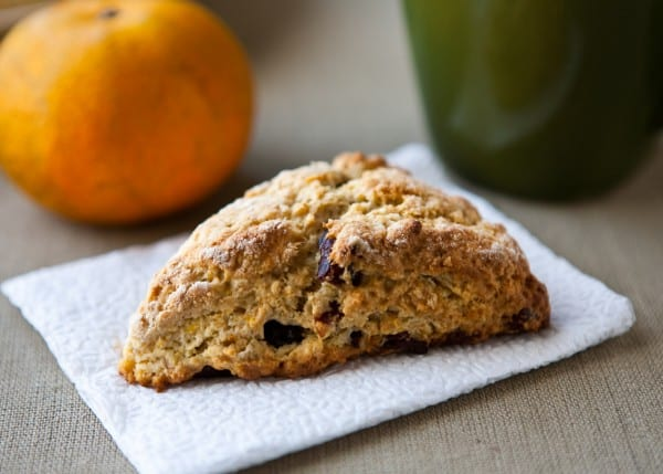 Mixed Berry Tangerine Scones @EclecticEveryday