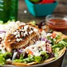 Grilled Chicken Taco Salad by EclecticRecipes.com #recipe