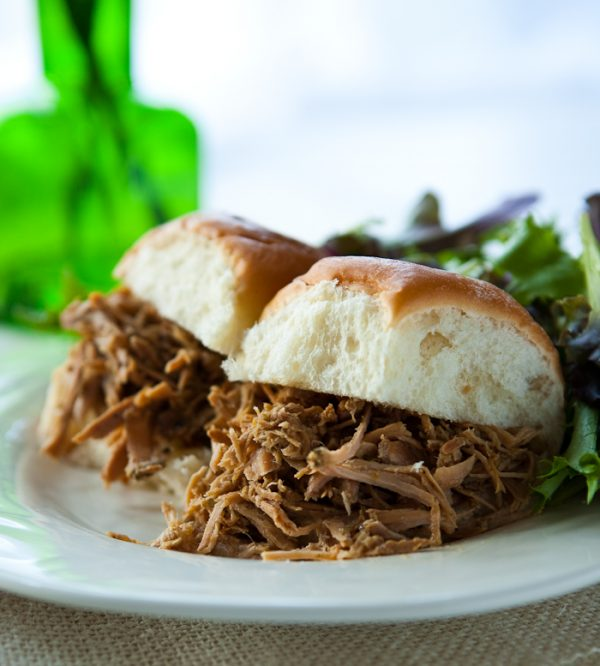 Crockpot Cuban Pork by EclecticRecipes.com #recipe
