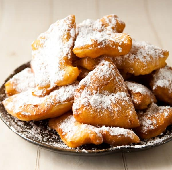 French Quarter Beignets by EclecticRecipes.com #recipe