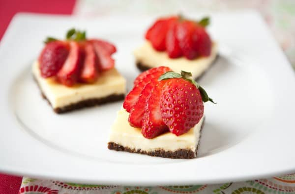 Brownie Cheesecake Bites by EclecticRecipes.com #recipe