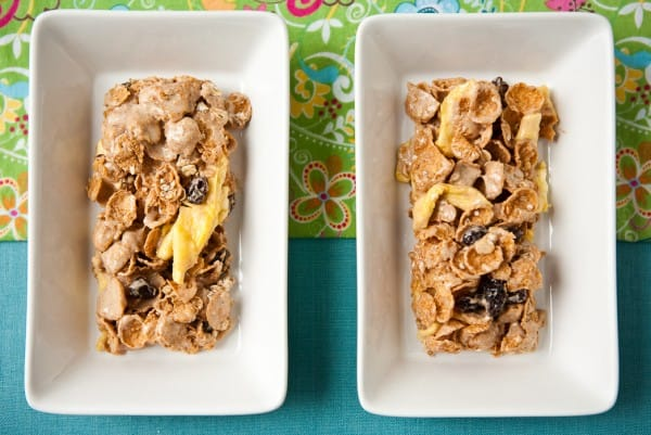 Apple Cinnamon Oatmeal Crisp® Cereal Bars by EclecticRecipes.com #recipe