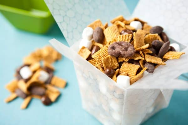 S'more Trail Mix by EclecticRecipes.com #recipe