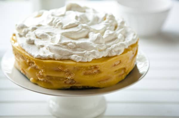 Pineapple IceBox Cake by EclecticRecipes.com #recipe
