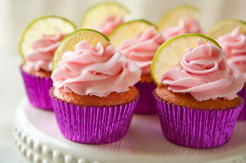 Eclectic Everyday » Strawberry Margarita Cupcakes