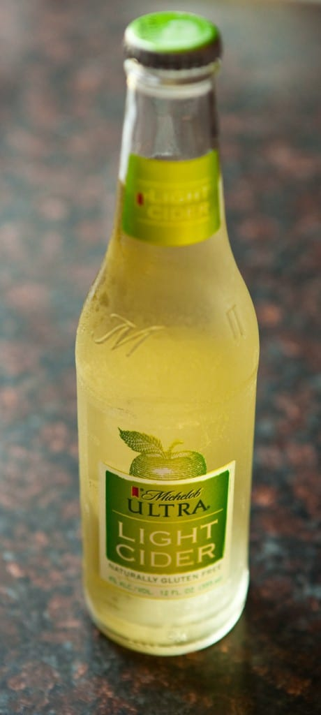 Michelob ULTRA Light Cider by EclecticRecipes.com #recipe