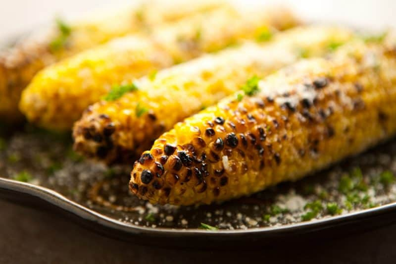 Eclectic Everyday » Parmesan Garlic Grilled Corn