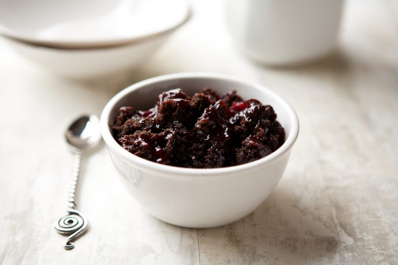 Betty Crocker Chocolate Cherry Dump Cake