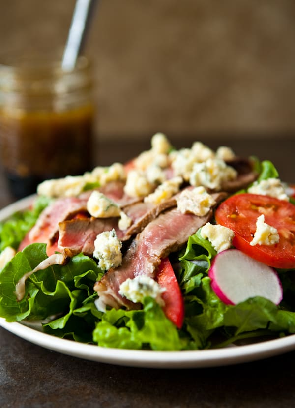 Summer Steak Salad and Shrimp Flatbread with Kerrygold Cheeses and Butter @EclecticEveryday