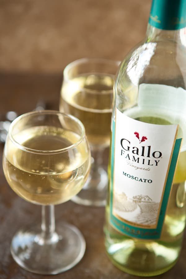 Celebrate National Moscato Day with Gallo Family Vineyards by EclecticRecipes.com #recipe