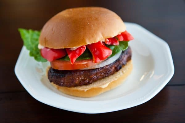 Chorizo Burgers With Johnsonville by EclecticRecipes.com #recipe