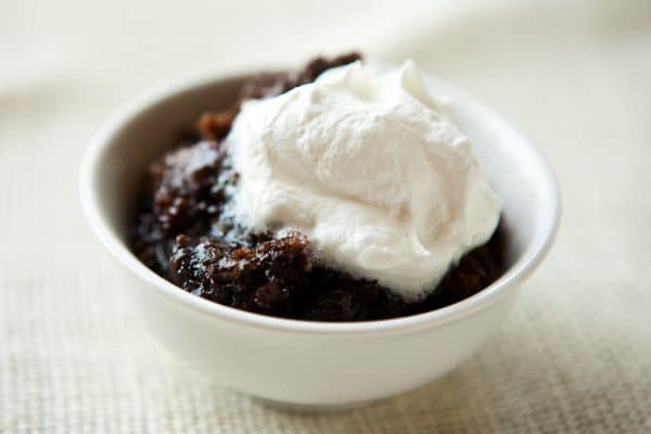 Slow Cooker Chocolate Lava Cake by EclecticRecipes.com #recipe