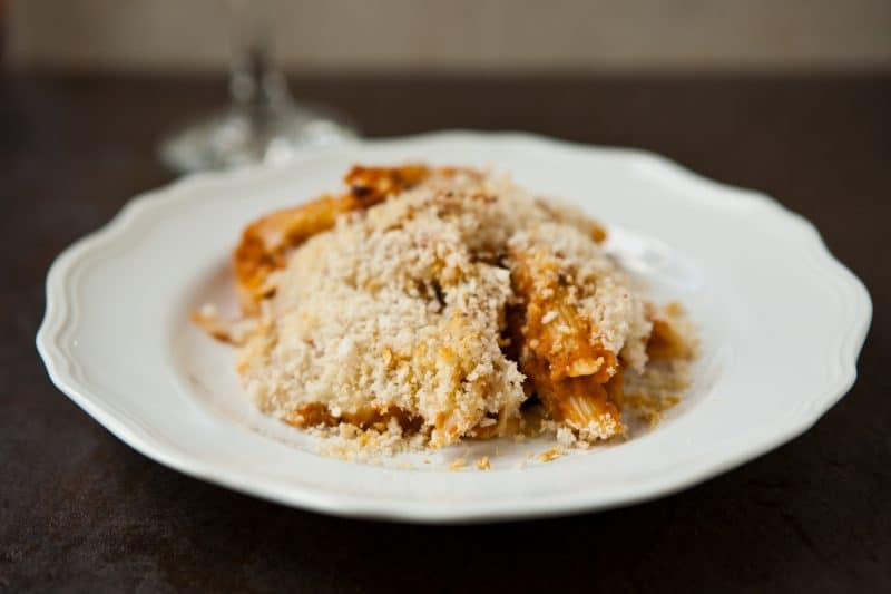 Eclectic Recipes » Eggplant Pasta Bake