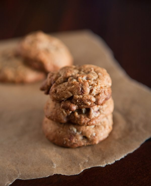 Brown Butter Oatmeal Chocolate Chip Cookies  @EclecticEveryday