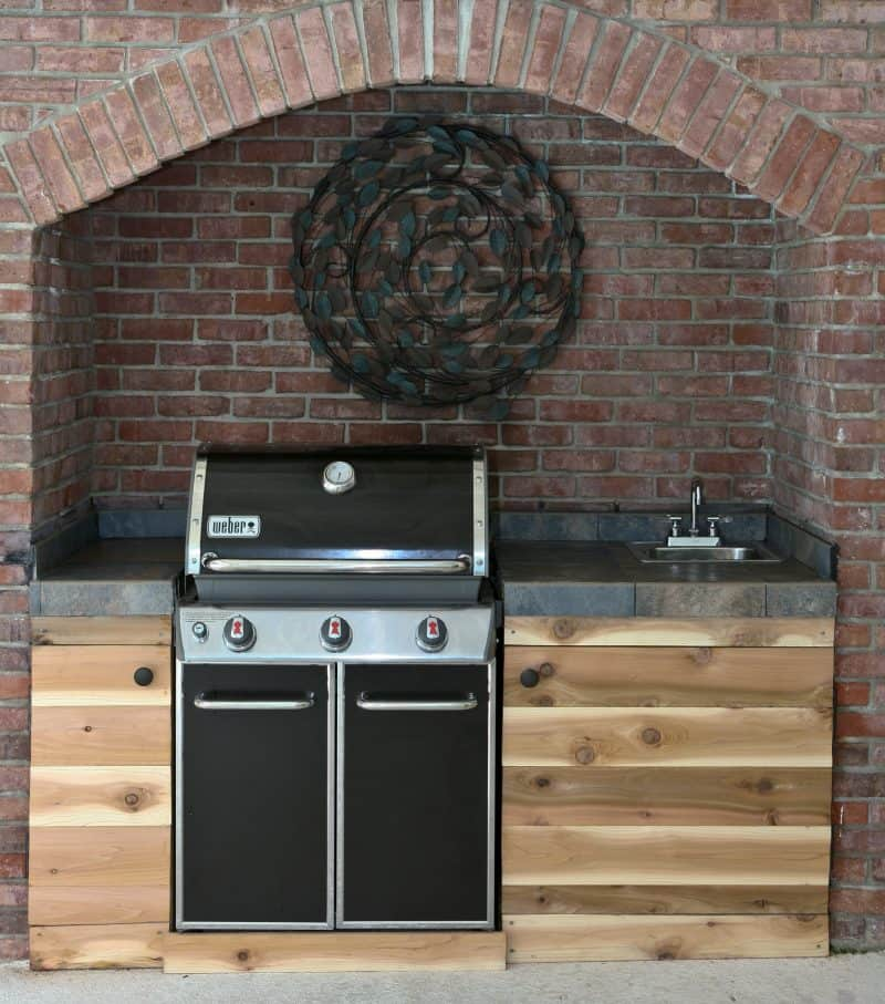 Grilled Cedar Planked Salmon And Summer Kitchen Reveal Eclectic Recipes