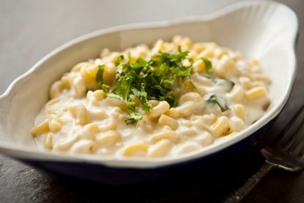 Mozzarella Macaroni and Cheese by EclecticRecipes.com #recipe