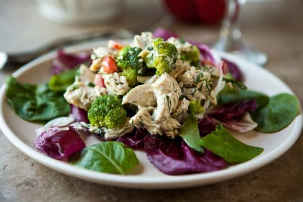 The Best Chicken Salad by EclecticRecipes.com #recipe