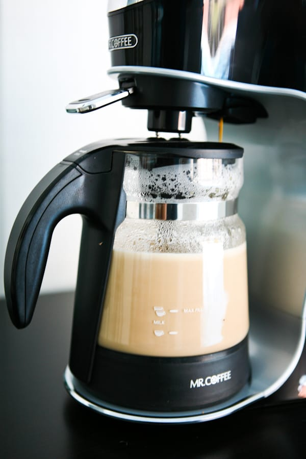 Mr. Coffee Caf Latte by EclecticRecipes.com #recipe
