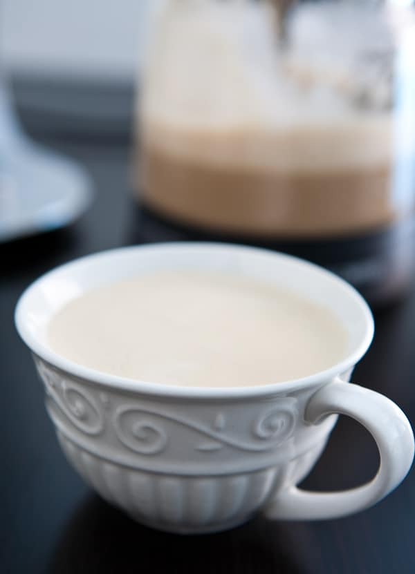 Mr. Coffee Café Latte by EclecticRecipes.com #recipe