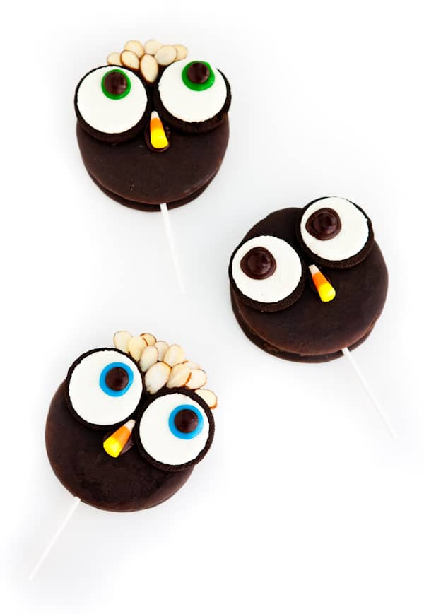 Eclectic Everyday » Moon Pie Owl Pops