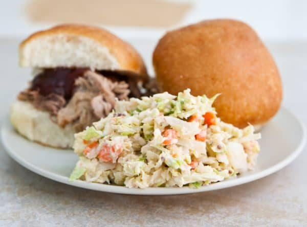 Slow Cooker Cajun Pulled Pork  by EclecticRecipes.com #recipe