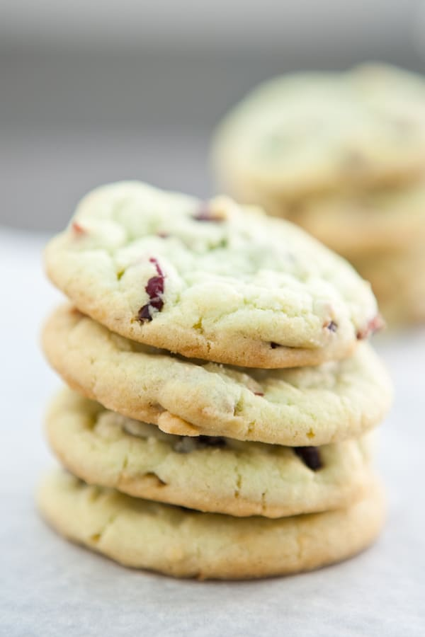 Eclectic Everyday » Cranberry Pistachio Pudding Cookies