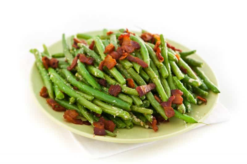 Eclectic Everyday » Parmesan Ranch Roasted Green Beans