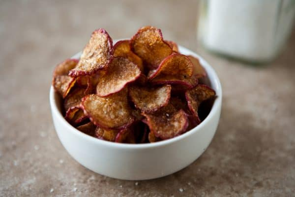Radish Chips @EclecticEveryday
