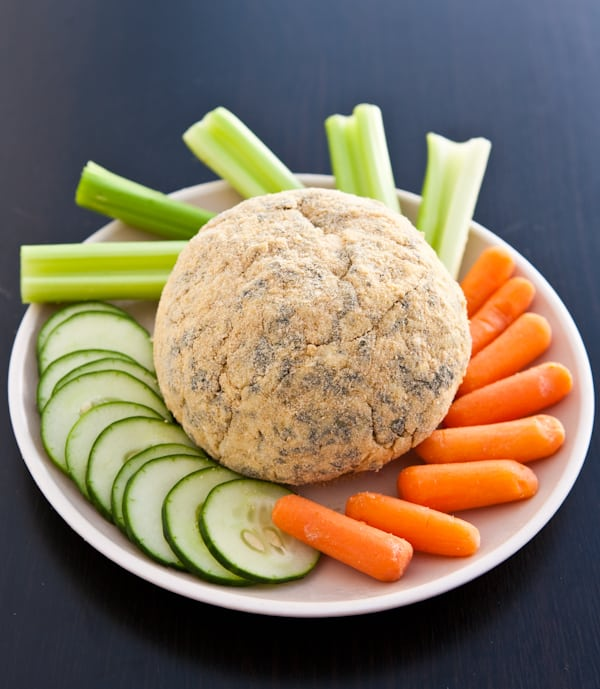 Spinach Artichoke Cheese Ball @EclecticEveryday