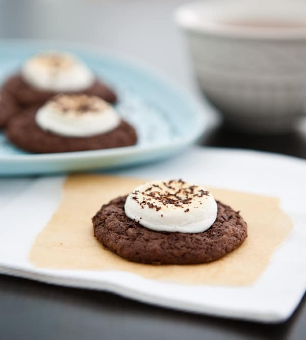 Hot Chocolate Cookies @EclecticEveryday