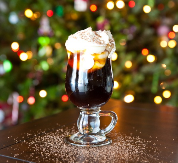 Christmas Coffee Cocktail by EclecticRecipes.com #recipe