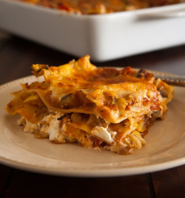 French Style Lasagna by EclecticRecipes.com #recipe