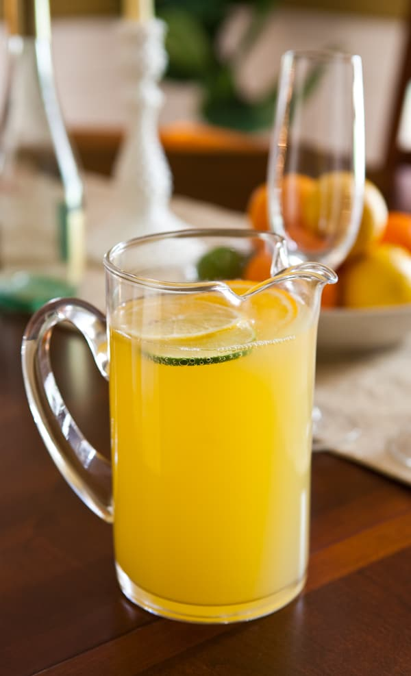Citrus Sangria by EclecticRecipes.com #recipe