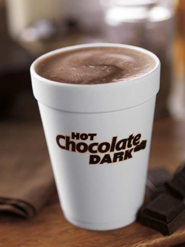 Dunkin' Donuts Dark Hot Chocolate Giveaway {$110 Value} by EclecticRecipes.com #recipe