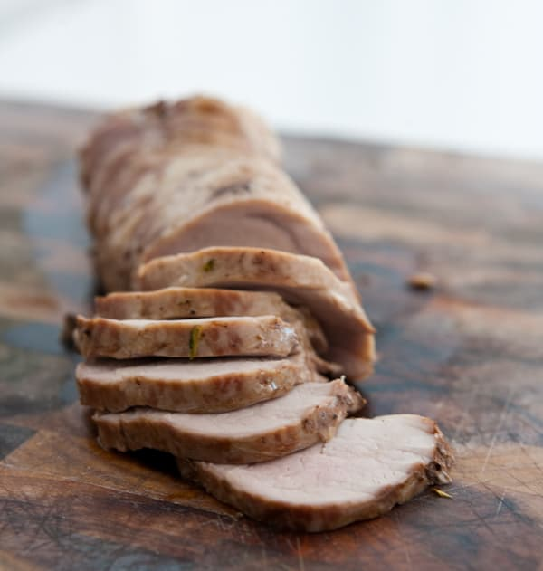 Maple Roasted Pork Loin @EclecticEveryday